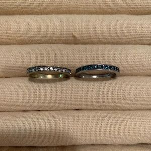 Chloe + Isabel Rings- set of two